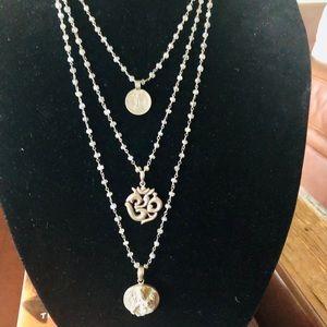 Safia Day Namaste Silver/Labradorite Necklace